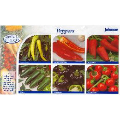 Paprika`s en Pepers Collectie - zaden kopen | 400 x 400 jpeg 37kB
